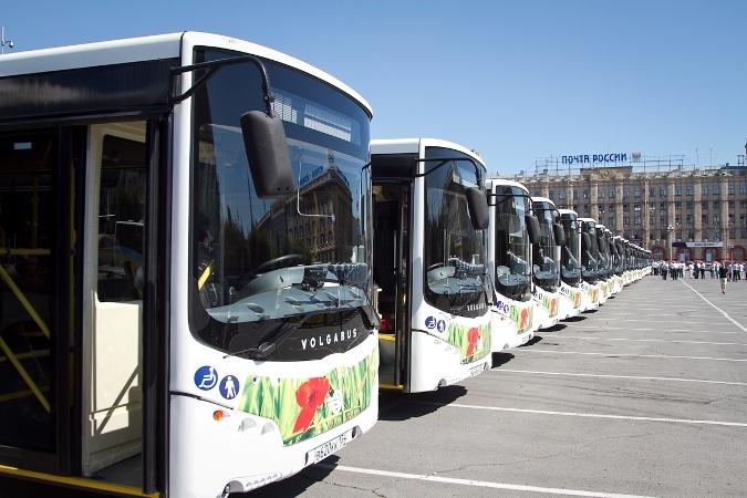 Тридцать новых автобусов
