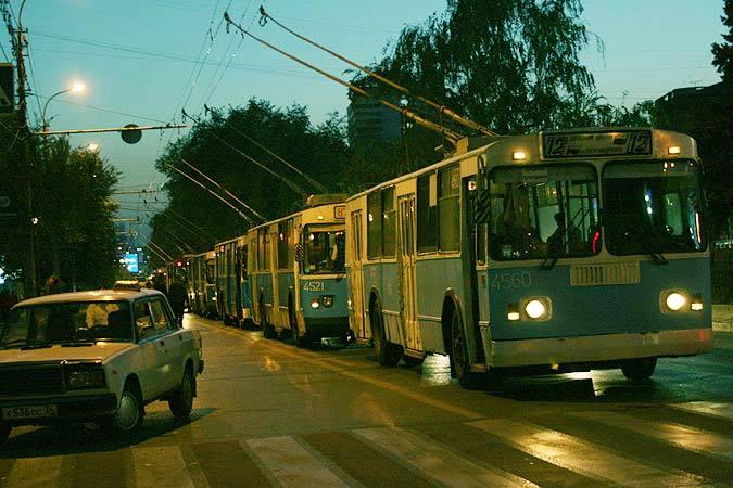 два троллейбусных маршрута
